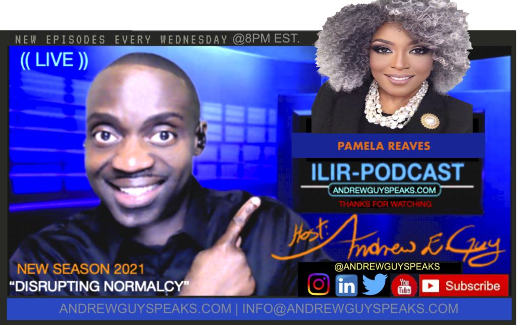 PAMELA REAVES, ILIRPODCAST, FEATURED GUEST